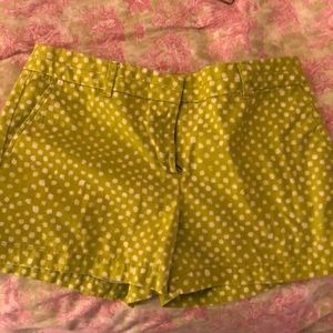 Green shorts from Ann Taylor